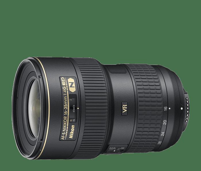 Nikon AF-S 16-35mm f/4G ED VR Lens