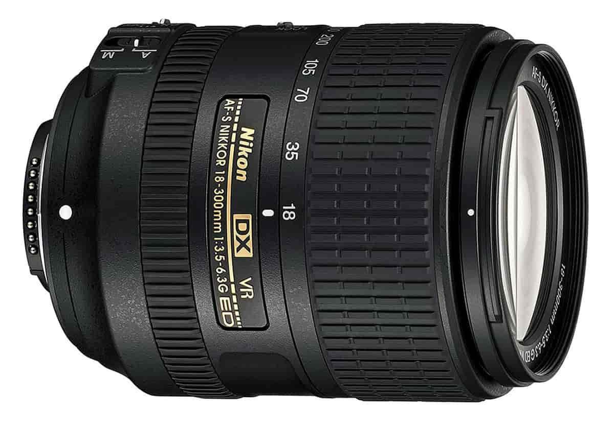 Nikon AF-S 18-300mm f/3.5-6.3G ED VR DX Lens