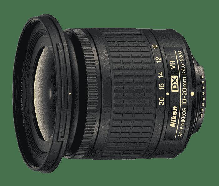 Nikon AF-P 10-20mm f/4.5-5.6G DX VR Lens