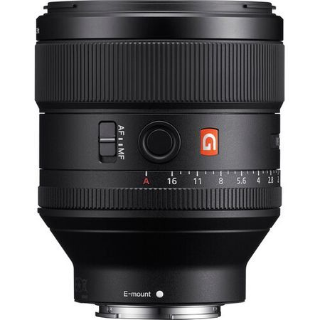 Sony FE 85mm  f/1.4 G Master Lens