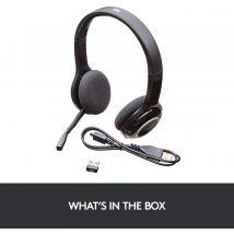 Logitech Wireless Headset  H600 BT BLACK (981-000342 )