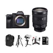 Sony A7R IV Mirrorless Camera With 24-105mm F/4 Lens And Accessories Kit