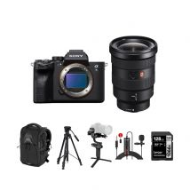 Sony A7S M3 Mirrorless Camera Body Only With Sony 16-35mm F/2.8 GM Lens And Accessories Kit