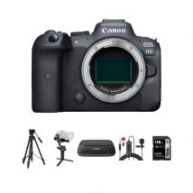 Canon EOS R6 Mirrorless Digital Camera body With Accessories Kit