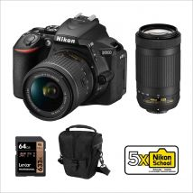 Nikon D5600 DSLR Camera With 18-55mm and 70-300mm Lenses Bundle With Accessories Kit