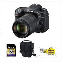 Nikon D7500 DSLR with 18-140mm VR Bundle Offer With 128GB Memory Card,Tripod And Cleaning Kit