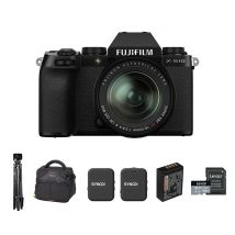 Fujifilm X-S10 Mirrorless Camera With XF18-55mm Lens And Accessories Kit