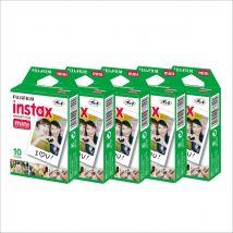 Fujifilm Instax Mini 1 Pack Film Bundle Offer (5 Boxes Pack)