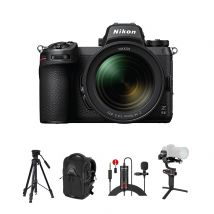 Nikon Z6II Mirrorless Camera With 24-70mm F/4 Lens Kit with Accessories