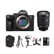 Sony A7 III Mirrorless Camera With 24-105mm Lens And Accessories Kit