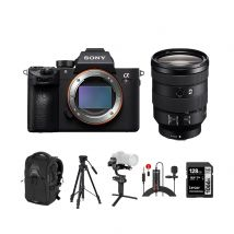 Sony A7R III Mirrorless Camera With 24-105mm F/4 Lens And Accessories Kit