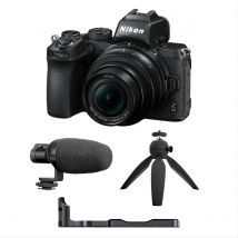 Nikon Z50 Vloggers Kit Bundle (Microphone + Camera rig +Table top tripod)