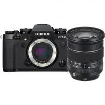 Fujifilm Digital Camera X-T3 Black - XF16-80MM Bundle With 128GB Card,Cleaning Kit,Tripod And Case