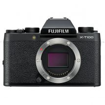 Fujifilm X-T100 Body Only Bundle With 128GB Memory Card,Tripod,Cleaning Kit And Case(Black)