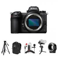 Nikon Z6 II Mirrorless Camera Body with FT-Z Adapter and Accessories Kit