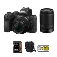 Nikon Z50 Mirrorless Camera With 16-50mm And 50-250mm lenses And Accessories Kit