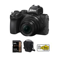 Nikon Z50 Mirrorless Camera With 16-50mm Lens And Accessories Kit