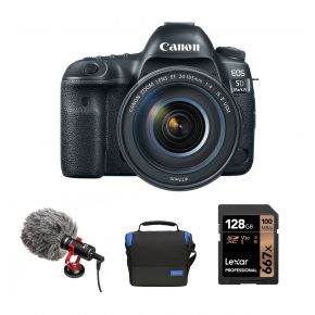 Canon EOS 5D MK IV DSLR Camera With 24-105 F4L Lens And Accessories Kit