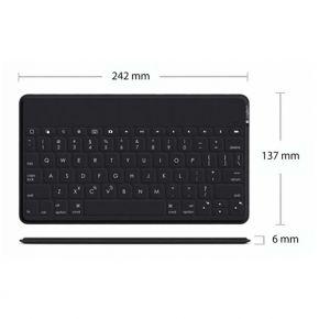 Logitech KEYS-TO-GO Bluetooth Keyboard Black (920-006710 )