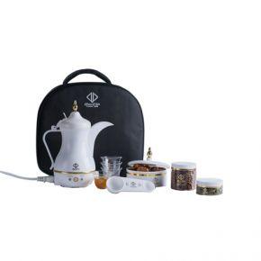 Traveler Dalla Electrical Arabic Coffee Maker 'Color White' (JLR-170E3 )