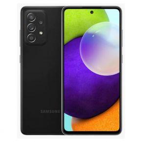 Samsung Galaxy A52 Dual SIM Smartphone, 128GB 8GB RAM LTE -  Black