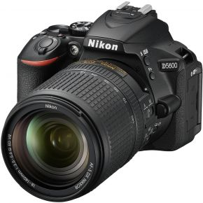 Nikon D5600 With 18-140mm Bundle With 128GB Card,Tripod,Cleaning Kit And Case