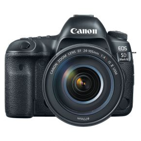 Canon EOS 5D MK IV DSLR Camera With 24-105 F4L Lens