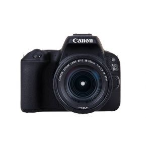 Canon EOS 200D EFS 18-55MM IS STM Silver KIT+SD16GB CD+CS