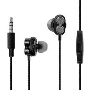 ONYX In-Ear Dual Speaker Driver Stereo Earphones