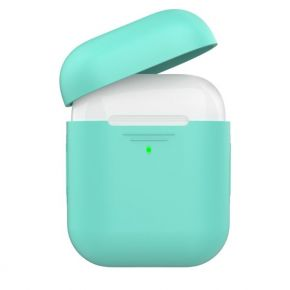Promate AIRCASE.GREEN Slim Silicon Case for Apple Airpods
