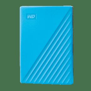 WD 2TB My Passport USB 3.2 Gen 1 External Hard Drive-Blue