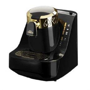 Arzum Okka Turkish Coffee Maker, OK-008  - Black & Gold