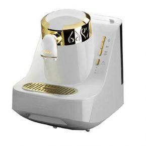 Arzum Okka Turkish Coffee Maker (OK-008-B) - White & Gold