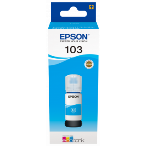 Epson EcoTank 103 Cyan Ink Bottle