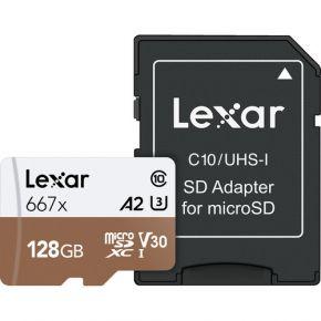Lexar Professioal Micro SD 128GB 667x Card
