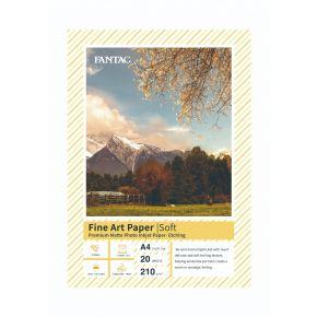 A4 ( 20sheets) FAP-SOFT Fantac Fine art paper -Soft INKJET ACCESSORY