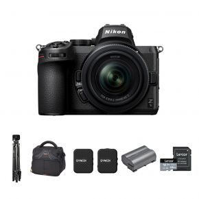 Nikon Z5 Mirrorless Camera With 24-50mm F 4-6.3 Lens And Accessories Kit
