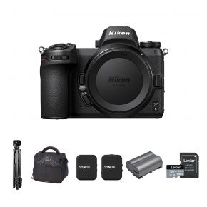 Nikon Z6 Mirrorless Camera Body Only With Accessories Kit