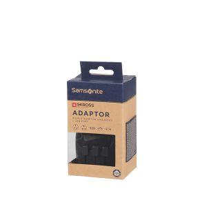 Samsonite CO1 (*) 09 087 SAM GLOBAL TA WORLDWIDE ADAPTER + USB BLACK A