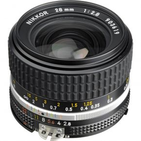 Nikon NIKKOR 28mm f/2.8 Lens (Manual Focus)