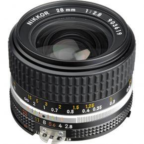 Nikon NIKKOR 28mm f/2.8 Lens (Manual Focus)