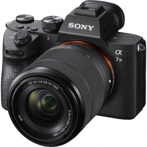 Sony A7 III Mirrorless Full Frame Camera With 28-70mm F/3.5-5.6 Lens And Accessories Kit