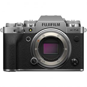 Fujifilm X-T4 Mirrorless Camera Body Only (Silver)