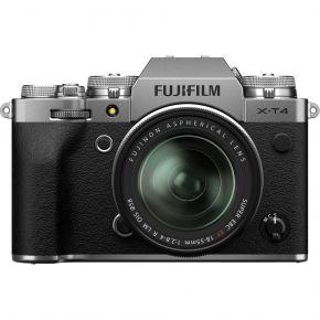 Fujifilm X-T4 XF 18-55mm Mirrorless Camera Kit Silver