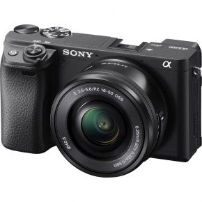 Sony A6400 Mirrorless Camera With 16-50mm F/3.5-5.6 Lens Kit (Black)