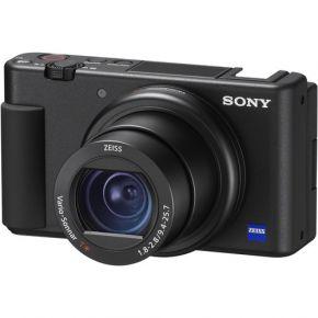 Sony DSC-ZV1 Digital Vlogging Camera With Sony GPVPT2 Grip Bundle