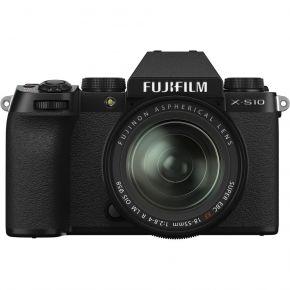 Fujifilm X-S10 Mirrorless Camera With XF18-55mm Lens Kit