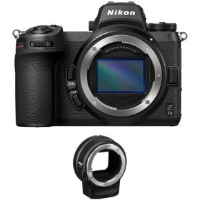Nikon Z 7II Mirrorless Digital Camera With FTZ Adapter