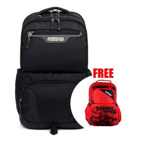 SCOUT Backpack 4 - Grey/Black + Doodle III Backpack (Red)