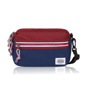 BLAKE Utility Bag - Wine/Navy